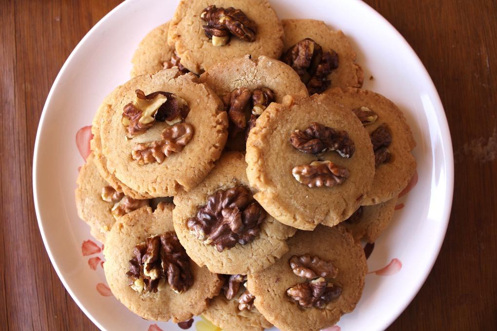 Devaneios de Chocolate - Maple & Nuts Biscuits