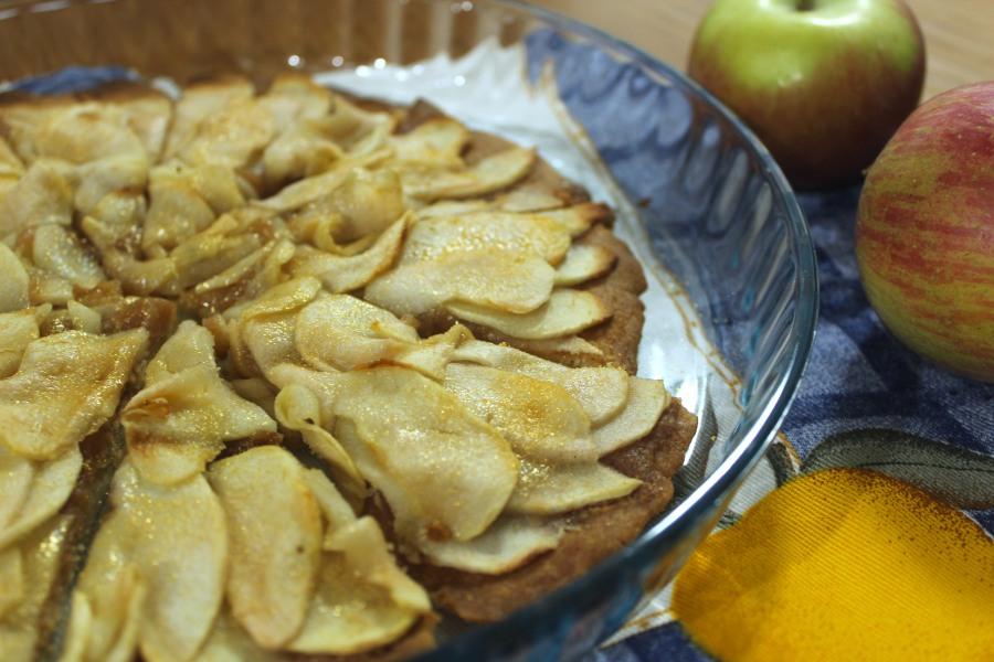 Tarte Rústica de Maçã (magra) | Rustic Appel Pie(low-fat)