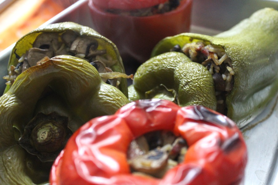 Pimentos Recheados | Stuffed Peppers