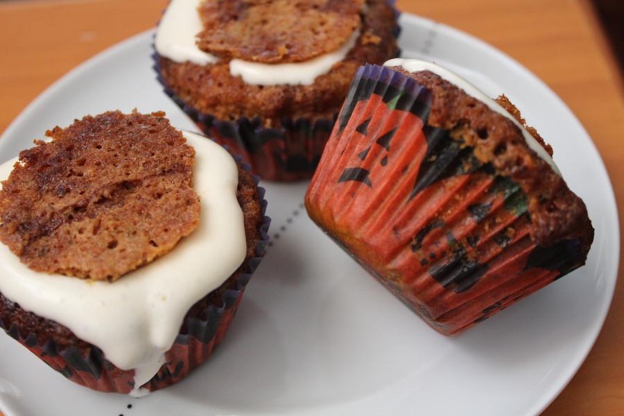 Queques de Pêra & Café | Sticky Pear & CoffeeCupcakes